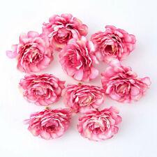 10pcs Artificial Silk Fake Flowers Floral Heads Wedding Bouquet Home Party Decor