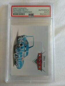 RICHARD PETTY  PSA/DNA CERTIFIED AUTHENTIC AUTO Photograph card