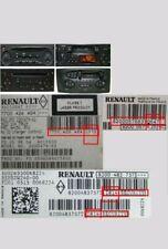 Renault MEGANE Convertible 2005 Stereo CD Player 8200483757 J28