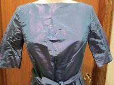 Pauw Blue Silk Blouse Top Size 2