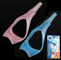 3 in 1 Cosmetic Mascara Applicator Guide Tool Eyelash Comb Makeup