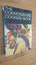 THE COMMONSENSE COOKERY BOOK 1966 paperback