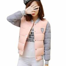 Winter Ladies Jacket Coats Cotton Casual Short Patchwork Patterned Warm Clothing