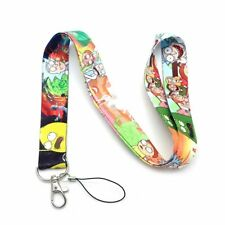 RICK AND MORTY LANYARD ID TAG DOCUMENT NECK STRAP HOLDER CARTOON ANIME UK SELLER