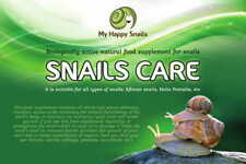 """Snails care"" Biologically Active Natural Food Supplement for Pet Land Snails"