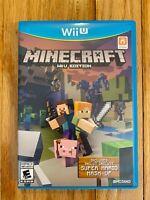 Minecraft: Wii U Edition (Nintendo Wii U, 2016)