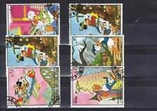 Serie Disney gestempeld (dis101) Sharjah: Mickey Donald Pluto