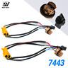 7443 LED Front Turn Signal Load Resistor Adapter Anti Hyper Flash Error Canceler
