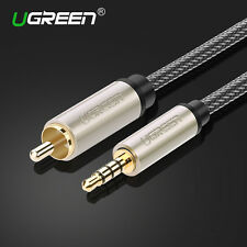 Ugreen 3.5mm Male to RCA Stereo Audio Cable Coaxial RCA Cable For TV Amplifer 1M