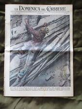 La Domenica del Corriere 4 Aprile 1954 Alpini Scalata V. Gassman Yvonne De Carlo