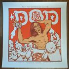 Iggy Pop Chicago 2016 by Jermaine Rogers SIGNED Ltd x/75 Print Poster Art MINT