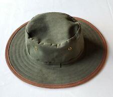 Betacraft Of New Zealand Green Fishing Waterproof Hat Size 7