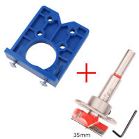 Concealed Hinge Hole Drilling Fixture Jig For 35mm Cabinet Mounting Plates Kit