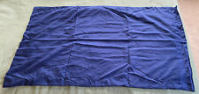 King Size Pillow Sham Navy Blue Color New & Unused
