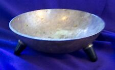 F.B. ROGERS 3 FOOTED SILVER PLATED BOWL
