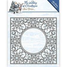 Amy Design Dies The Feeling of Christmas Collection Ice Crystal Frame Add10109