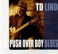 (FT388) TD Lind, Pushover Boy Blues - 2011 DJ CD