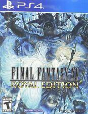 Final Fantasy 15 Xv: Royal Edition *Brand New* Ps4 (Sony PlayStation 4, 2018)