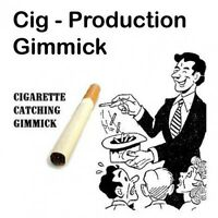 Magician's Cigarette Production Gimmick Cig Catcher From Mid Air Magic Trick