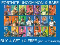 Panini Fortnite Trading Cards Series 1 Uncommon & Rare - Buy 4 Get 10 Free