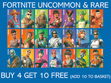 Panini Fortnite Trading Cards Series 1 Uncommon & Rare - Buy 4 Get 10 Free
