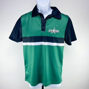 Texas Stars Hockey Green Golf Shirt Mens S - Dallas Stars