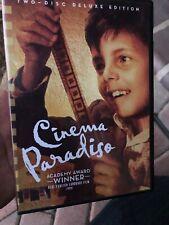 Cinema Paradiso (Dvd, 2 Disc) Cult Classic Foreign Film Italian Italy Rare Oop