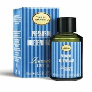 The Art of Shaving Lavender Pre-Shave Essential Oil 2 Oz/60 ml