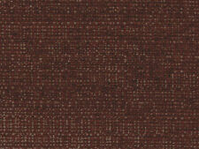 Designer Upholstery Fabric Heavy Wt Textured Tweed-Like Solid - Mingled Burgundy