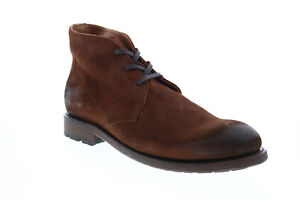 Frye Bowery Chukka 80324 Mens Brown Suede Lace Up Chukkas Boots