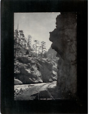 Vintage Mounted Photo - Mother Grundy, Clear Creek Canon, Colorado Springs, CO