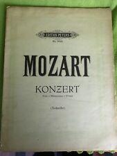 Notenbuch - Notenheft - Edition Peters - Mozart - Konzert für Klavier+Orchester