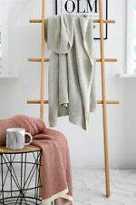 Knitted Cotton Throw Thread Blanket Sofa Office Nap Blanket Home Decor