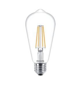 Philips LED Classic Filament ST64 Bulb 8W=60W, 2700K, Dimmable, E27 ES Edison