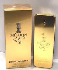 1 One Million Paco Rabanne EDT Spray For Men 3.4 oz/100 ml New In Sealed Box