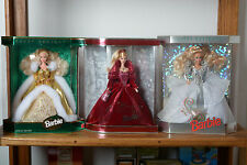 Happy Holidays Special Edition Barbie Dolls 1992,1994,2002~Perfect Condition!