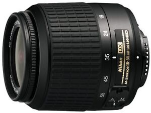 Nikon 18-55mm VR G AF-S DX Lens for D3200 D3300 D5200 D7000 D7100 Camera