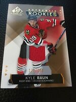 Kyle Baun Blackhawks 2015-2016 SP Game Used  Authentic Rookie Patch #181 177/399