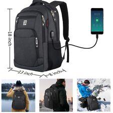Laptop Backpack Anti-theft Travel Shoulder Bag Notebook School Daypack Men Women