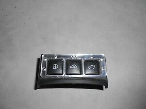 Audi TT 8N Schalter, Schalterleiste 3fach, Tankdeckel, Alarm, Heckklappe