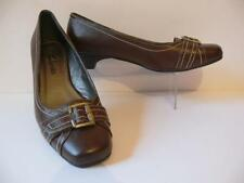 Clarks 100% Leather Low (0.5-1.5 in.) Women's Heels