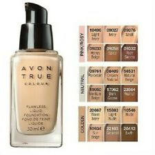 Avon True Colour Flawless Liquid Foundation Samples