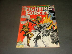 Our Fighting Forces #89 Jan 1965 Silver Age DC Comics Gunner & Sarge     ID:6378
