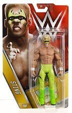 New WWE Mattel Basic Surfer Sting Action Figure Series 62