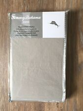 Tommy Bahama Relaxed State Pillowcase Gray 2 Pk 100% Cotton Percale