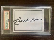 Kamala Harris Signed Autograph Cut Bookplate Encapsulated PSA DNA Read Joe Biden