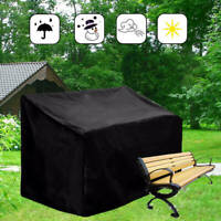 Waterproof Dustproof Patio Furniture 2/3-Seater Bench Cover Protection Outdoor