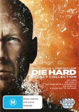 Die Hard Legacy Collection All 5 Movies Bruce Willis R4 DVD