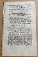 Metz en 1796 Fête des victoires Spire Neustadt Puisaye Révolution Française