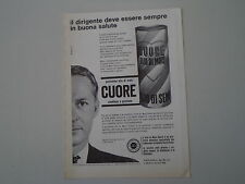 advertising Pubblicità 1963 OLIO CUORE